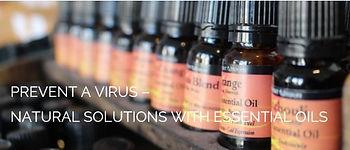 essential oils for viruses |  shiatsu bodyworks online | UK