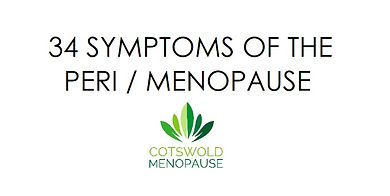 Cotswold Menopause explains the symptoms of the Perimenopause and what to do about it