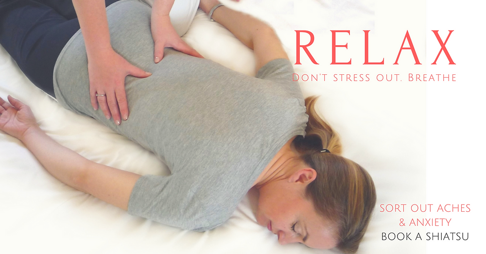 Regular Shiatsu like a massage, is like reflexology all over your body!