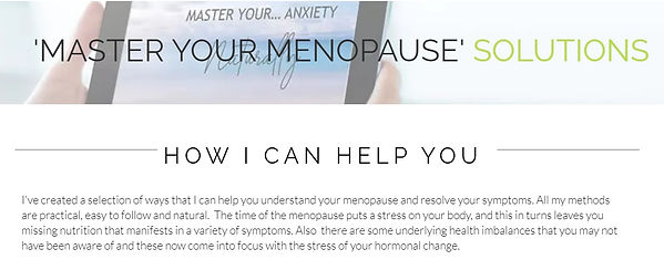 Natural menopause solutions |UK| Cotswold Menopause