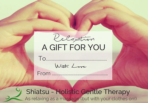 Shiatsu Bodyworks - Cheltenham - Shiatsu as a relaxing unique present