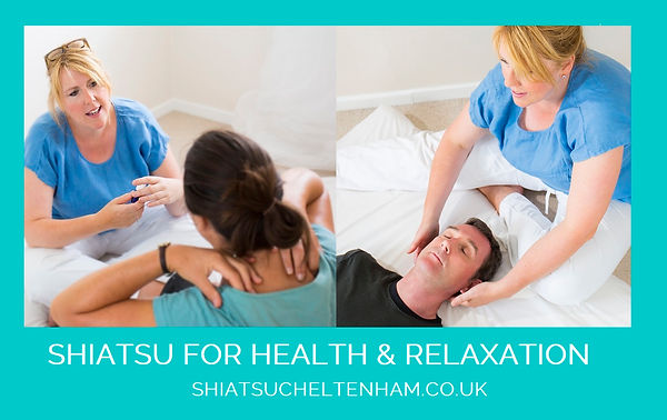 Shiatsu Bodyworks - Cheltenham - Relaxation from stress and emotional support for men and women