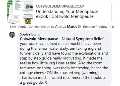 Understanding Your Menopause book review  UK   cotswoldmenopause.co.uk