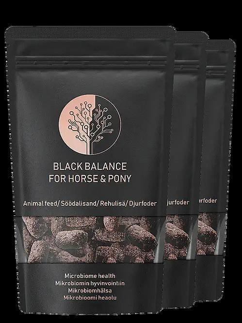 Black Balance for horses
