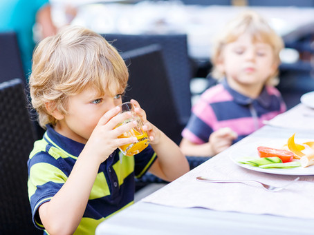 Eating Out with Kids Who Have Sensory Issues