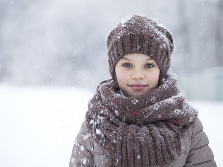 If Your Child Resists Mittens, Gloves, Scarves, Hats and Other Winter Clothes…