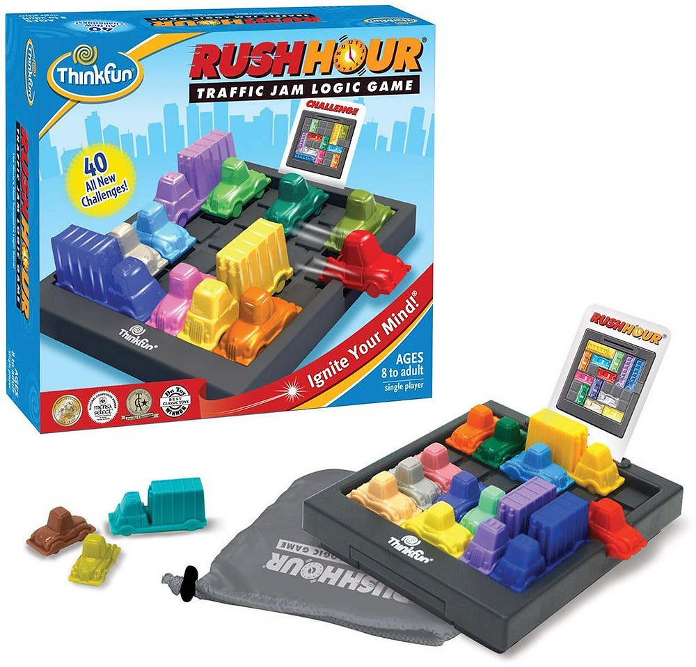 Rush Hour traffic jam logic game visual processing top gifts