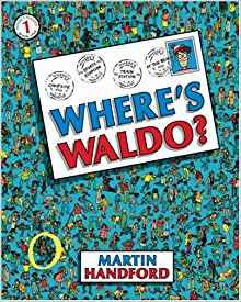 Wheres Waldo visual processing books for kids with sensory issues