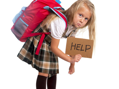 Backpack Awareness: Is Your Child's Backpack Too Heavy?