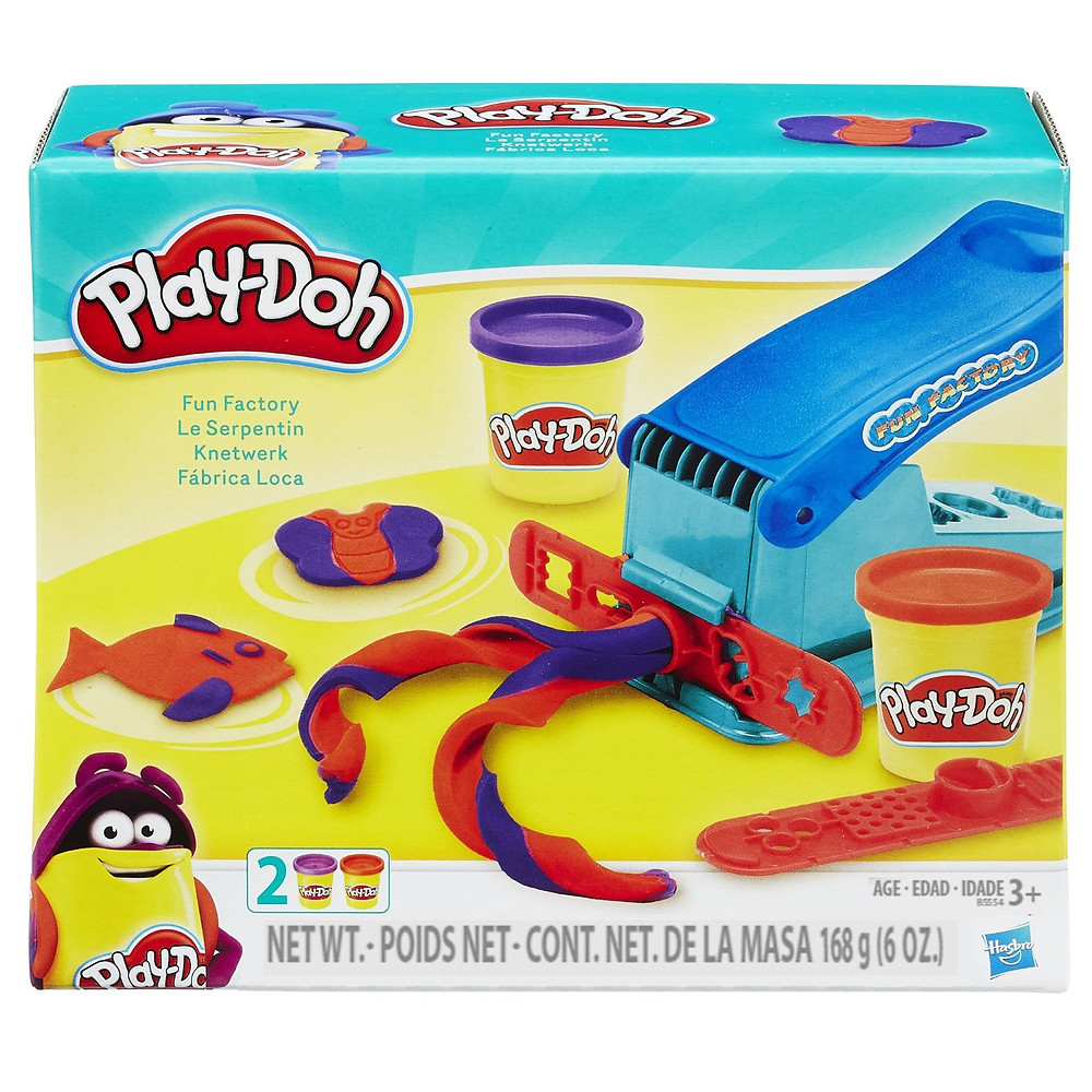 Play-Doh Fun Factory Top Toy sensory issues
