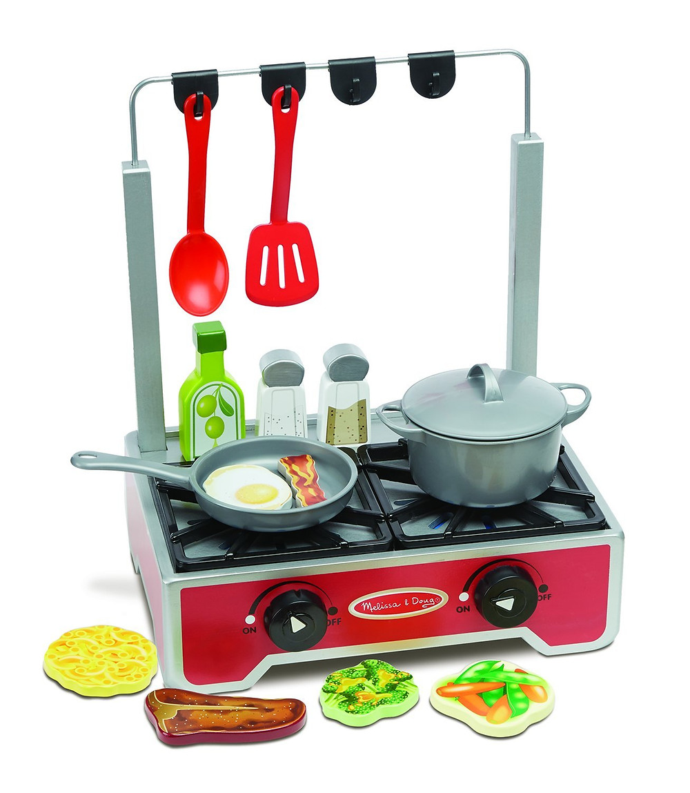 Sensory issues best toys imaginative play cooktop stove Melissa Doub