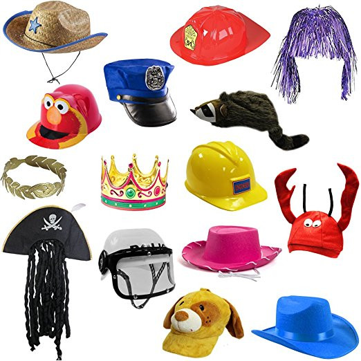 Dress-Up Hats for kids with sensory Issues tactile issues