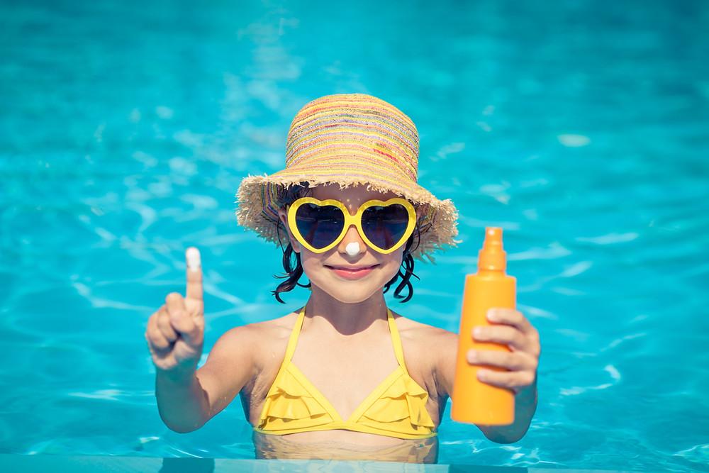 sensory smart summer tips sunblock insect repellent