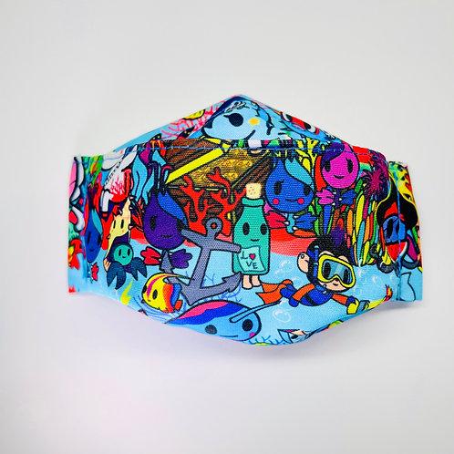 Mask - Ocean Explorers Blue Series 1