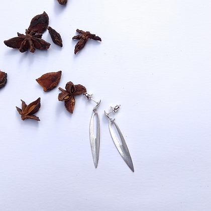 Star Anise Drop Earrings