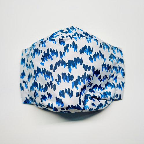 Mask - Petals in Blue