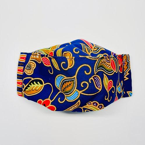 Mask - Blue Batik Series 1