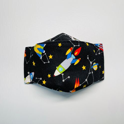 Mask - Space Travel Black