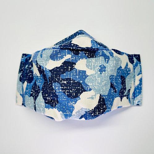 Mask - Blue Camo Series 1