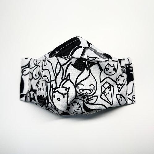 Mask - Mono Graphic Series 2