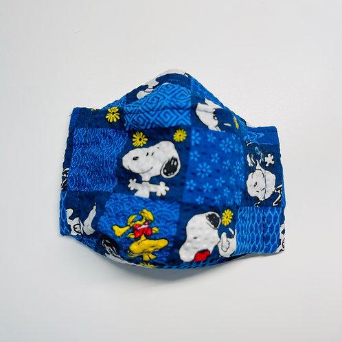Mask - Beagle Squares