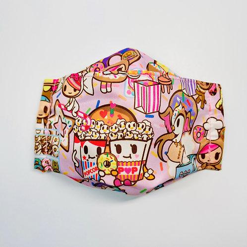 Mask - Popcorn in Pink