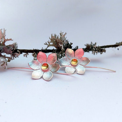 Passionflower Earrings