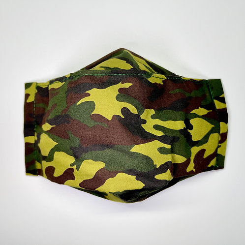 Mask - Green Camo Series 1