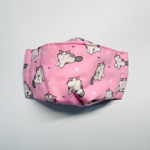 Mask - Meow Pink