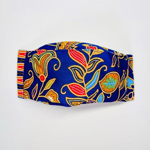 Mask - Blue Batik Series 2