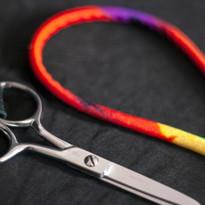 Scissor Lanyard with Scissors