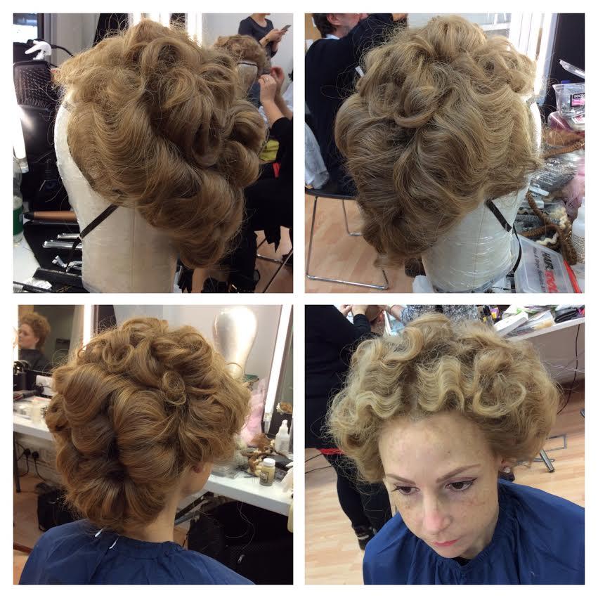 Edwardian Wig Work