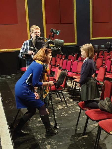 BBC Interview - Swainswick says - No to plastic!