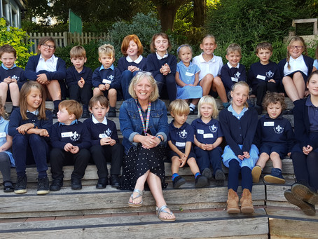 A very warm welcome to all our new children and their families