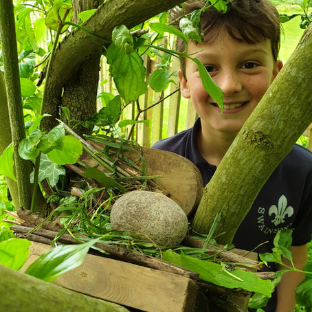 Oak Class Forest School with Miss Wills