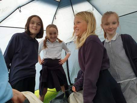 Challenge 3 - Pitching a tent.