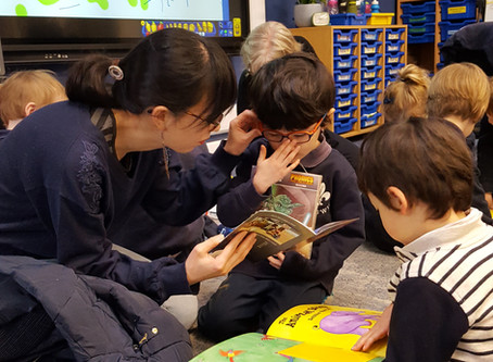 Parent Reading Buddies
