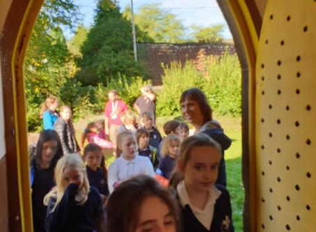 Harvest Festival in Woolley