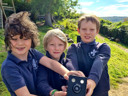 A mysterious camera discovered by Hazel Class!