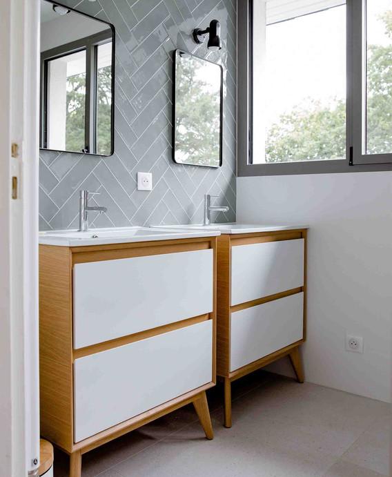 Rénovation d'une maison à Guérande - Salle de bain