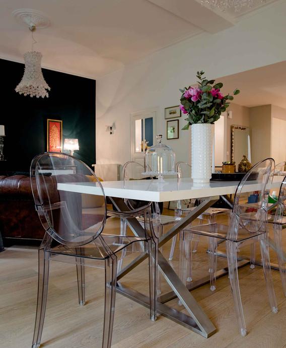 Rénovation d'une maison à Guist'hau Nantes - La salle à manger