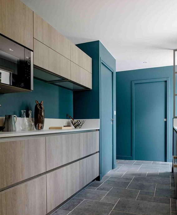 Rénovation d'une maison à Guérande - Cuisine