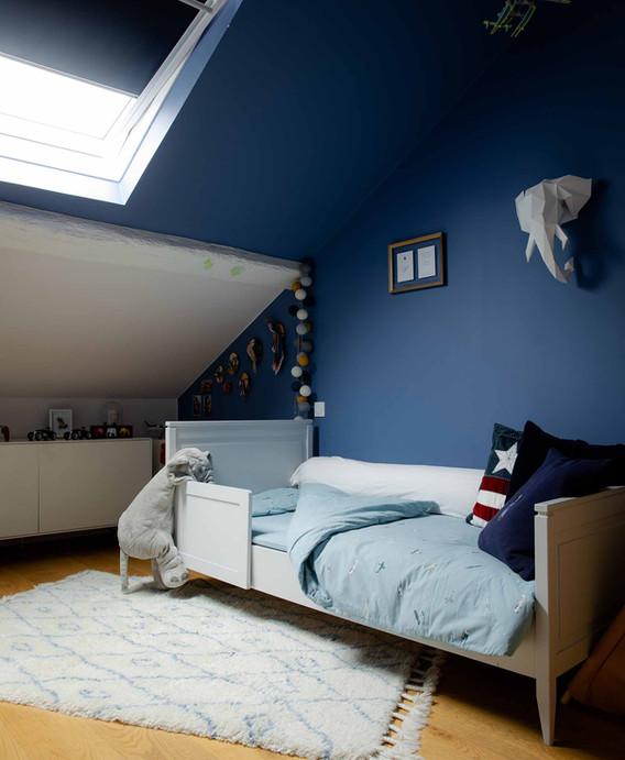 Rénovation d'une maison à Guist'hau Nantes - La chambre d'enfant