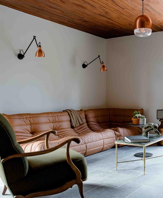 Rénovation d'une maison à Guérande - Salon