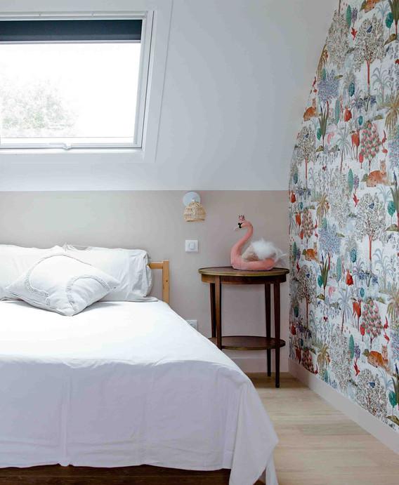 Rénovation d'une maison à Guérande - Chambre parentale