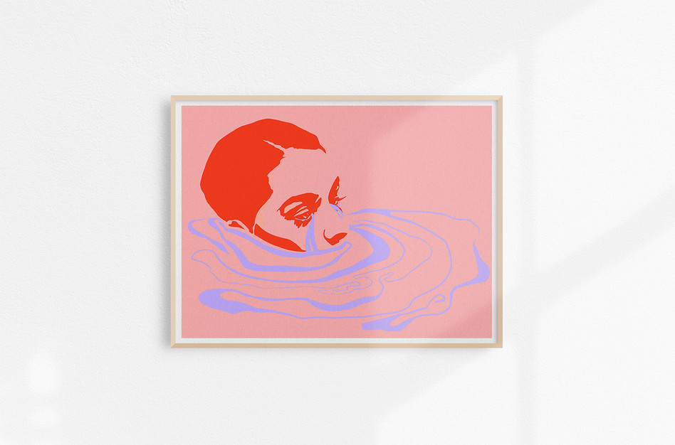 Print works_Collection ONE_Pool of tears