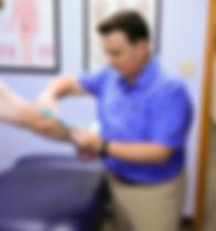 sports chiropractic kinesio tape