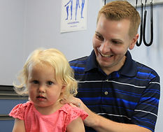 pediatric chiropractic adjustment