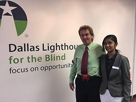 Dallas Lighthouse for the Blind - Blake Lindsay