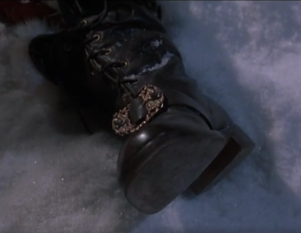 The Santa Clause boot from the 1995 film